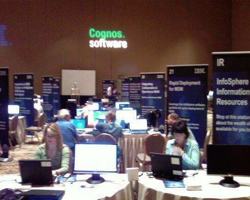 InfoSphere demo room